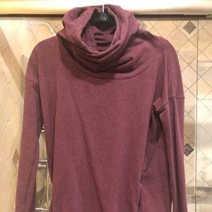 Luluemon Cow neck hoodie Size 4
